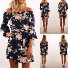 2019 New Fashion  Dress Beach Vintage Women Clothing Boho Lolita