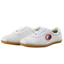 896a6109e53 Unisex Tai Chi Kung Fu Sapatos de Artes marciais Wing Chun Chinelo Sneaker  com Taiji Padrão Clássico Chinês Tradicional