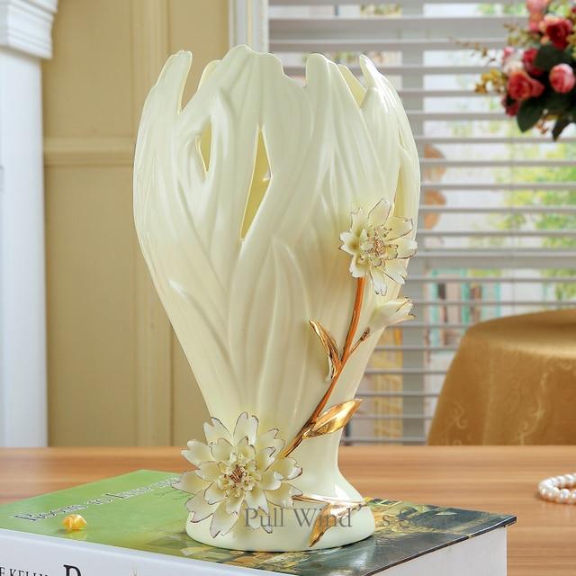 Aliexpress Buy Classical Art Hollow Ceramic Vases Pretty