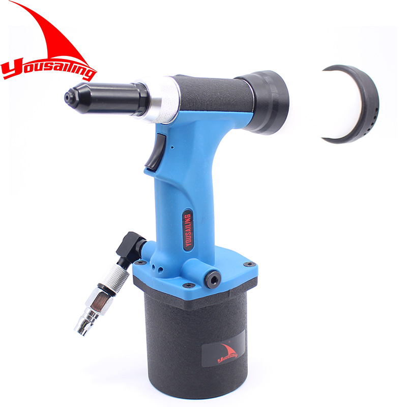 YOUSAILING Quality 2 4 4 8mm S30 Lightweight Automatic Pneumatic Rivets Gun Air Riveter Gun Tool