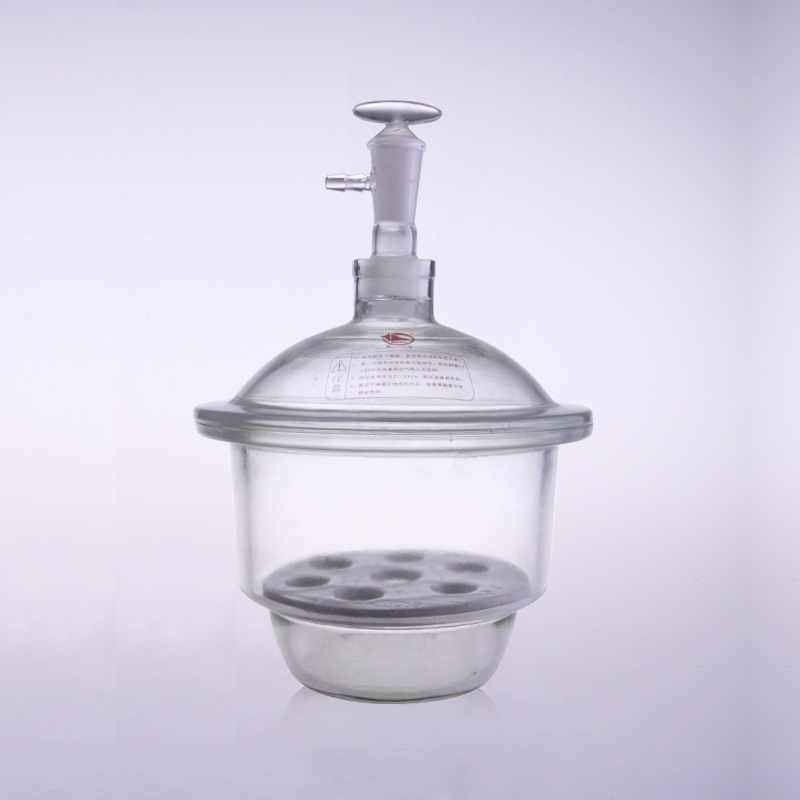 High quality glass vacuum drier laboratory equipment free shipping