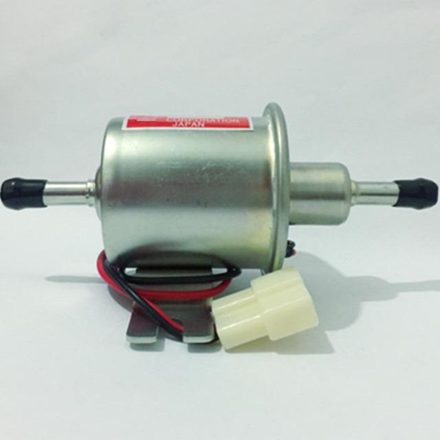 Universal diesel petrol gasoline 12v electric fuel pump HEP-02A 8mm pipe low pressure fuel bomb carburetor motorcycle ATV