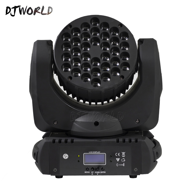 Image 3 - LED Beam 36x3W Moving Head Light RGB LED Wash Light With 9/16 Channels Linear Dimming DMX512 Stage Lights Professional Stage&DJ-in Stage Lighting Effect from Lights & Lighting