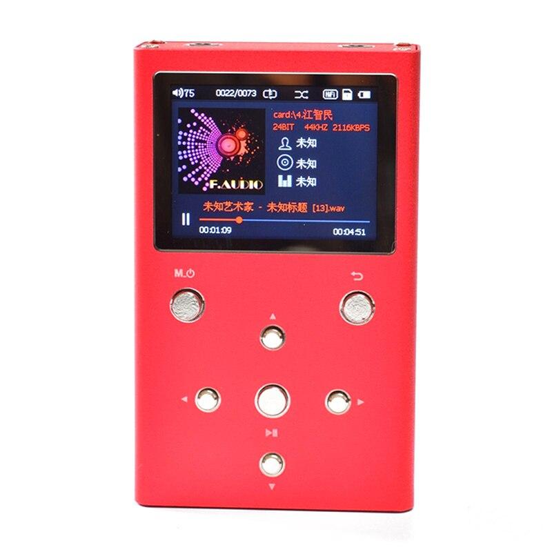F. audio XS02 HiFi Lossless Lettore Musicale Con Dual AK4490EQ Con TPA6120A2 PCM e DSD Lettore Audio Digitale DAP MP3 Lettore con 32 gb