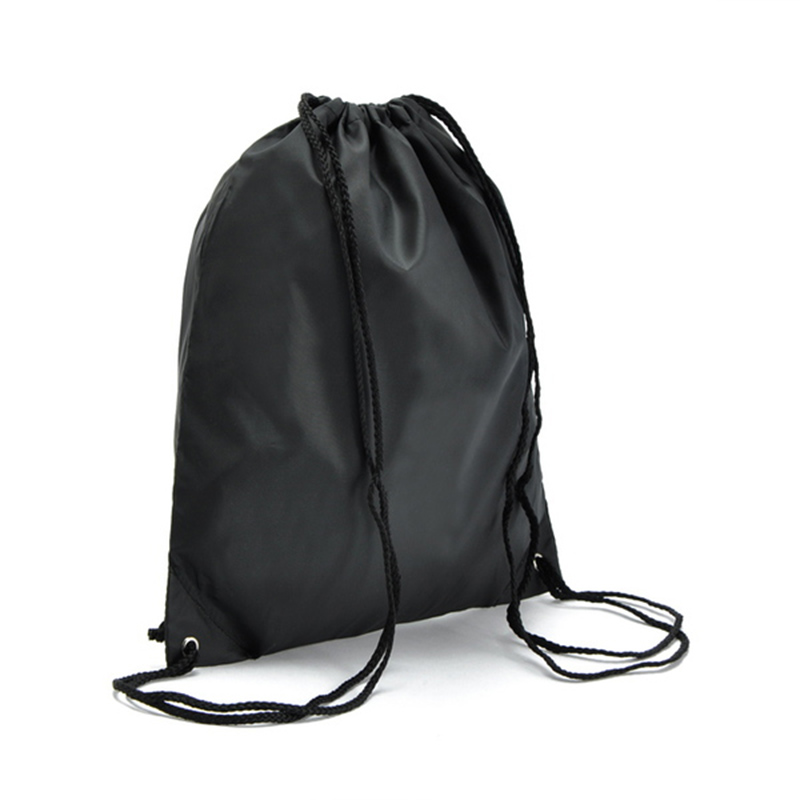 Women Men Drawstring Bags Candy Colors Backpack Shopping Bag Shoes Holder Solid Travel String Black Red 335 In Backpacks From Luggage