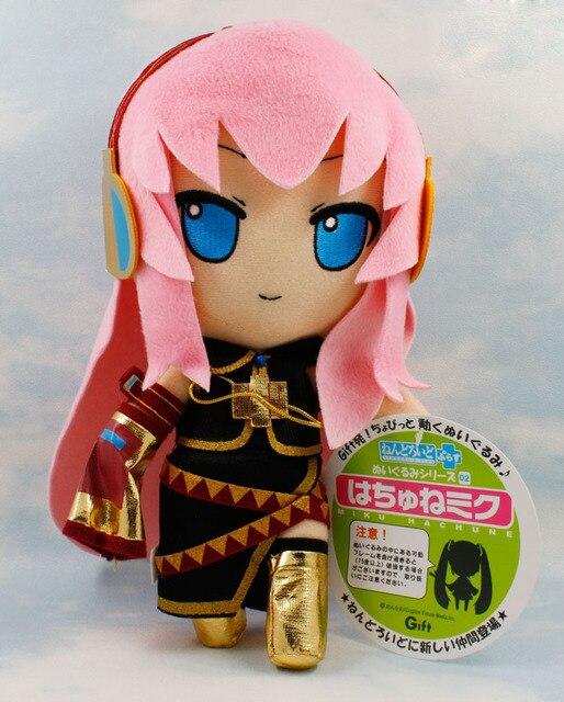Dos Desenhos Animados Anime japonês Vocaloid Hatsune Miku Luka Brinquedo De Pelúcia Boneca de Pelúcia 27 cm Chritmas Presente Frete Grátis