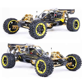 RUFAN Rovan Baja 5B 360 2WD 2T 36cc Gasoline Engine CNC Alloy Front Rear Arm Suspension Symmetrical Steering RC Truck - DISCOUNT ITEM  28% OFF All Category