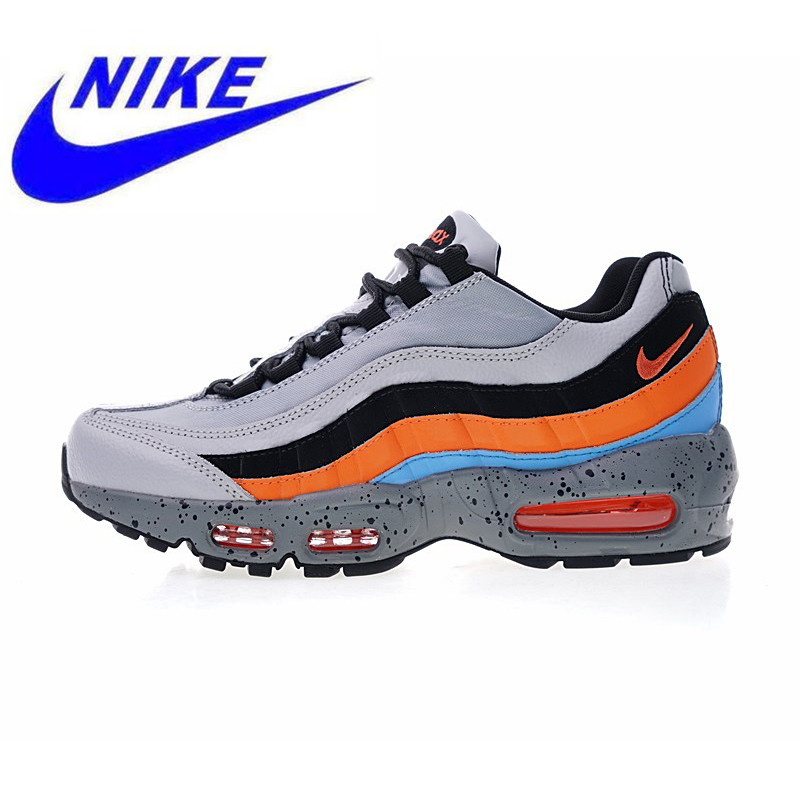 release date f773b ba007 High Quality Original Nike Air Max 95 Premium Men s Running Shoes Outdoor  Sneakers Shock Absorption Lightweight
