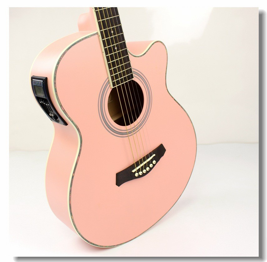 40 41 new guitars 40 inch 5 eq electric acoustic guitar rosewood fingerboard guitarra with. Black Bedroom Furniture Sets. Home Design Ideas
