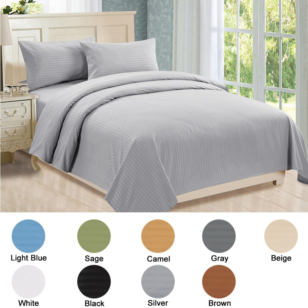 Luxury Bed Sheets Softest Ed Sheet Queen King Sets Microfiber Wamsutta Bedding Linen White Best Us Size