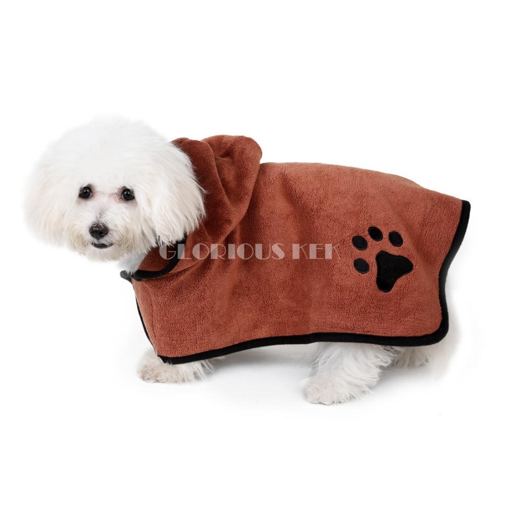 Dog Bathrobe (3)