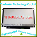 11.6 inch SLIM LCD SCREEN N116BGE-EA2 E42 E32 B116XTN01.0 N116BGE-E32 M116NWR1 R7 laptop disapy 30pins Left+right  Screw hole
