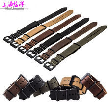 Leather Watchband chain thickening adapter sterculia PAM111 watch 24mm watch fittings soft