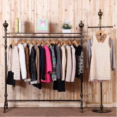Superbe New Continental Iron Clothing Rack Clothing Store For Men And Women Hanging  Clothes Hanger Rack Shelf