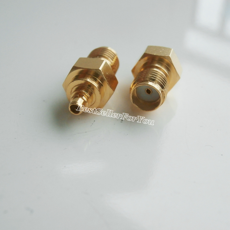 1pce SMC Female Jack to SMC Female Jack RF Coax Adapter Connector Straight