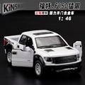 Escala 1:46 Alta simulación de aleación modelo de coche, Camioneta Ford F150 Raptor, modelos de juguetes de calidad, envío libre