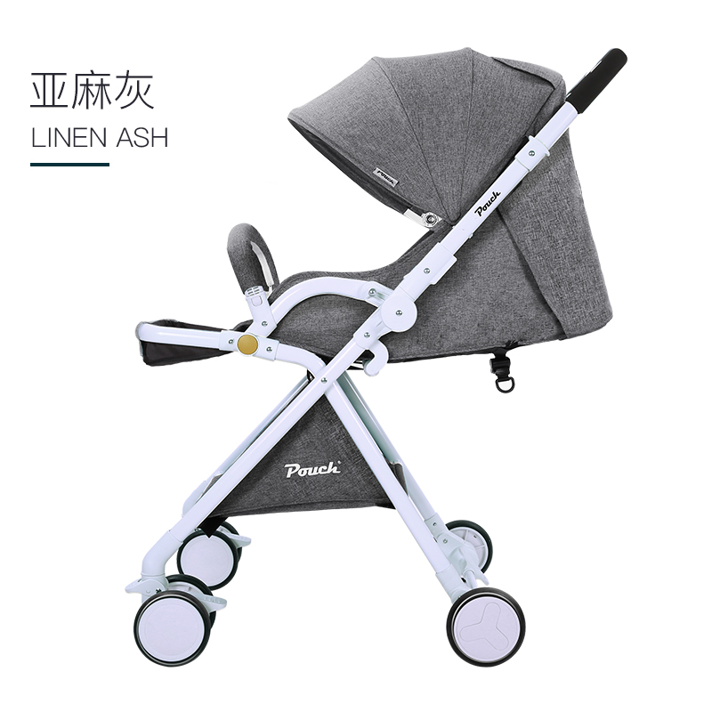 The two-way baby trolley is light and high, and the view can be folded in an umbrella car stokkThe two-way baby trolley is light and high, and the view can be folded in an umbrella car stokk