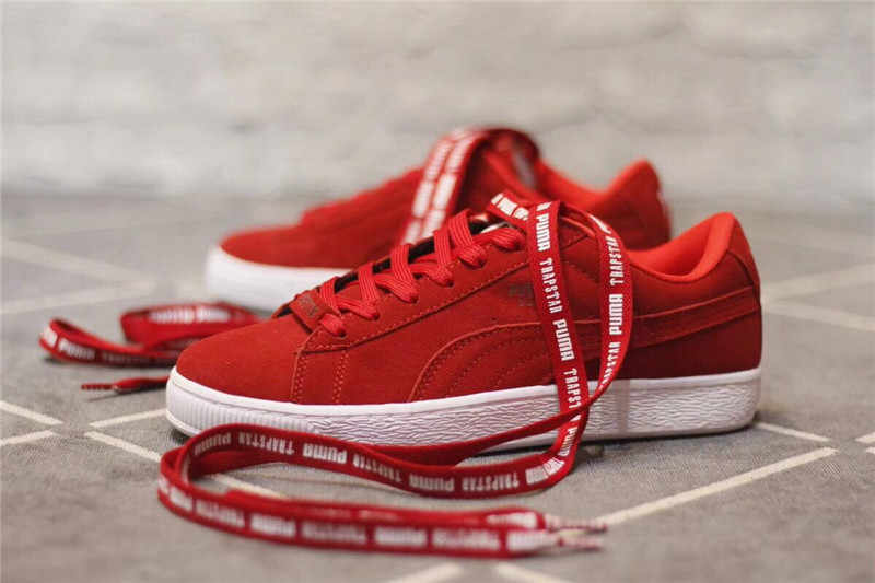 Detail Feedback Questions about Puma shoes PUMA SUEDE X TRAPSTAR Red ... bf76a66a4