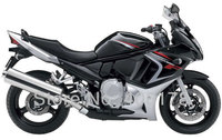 Лидер продаж, дешевые GSX650F 08 09 10 11 12 13 ABS обтекатель комплект для Suzuki GSX 650F 2008 2013 Черный мотоцикл кузова обтекатели комплект