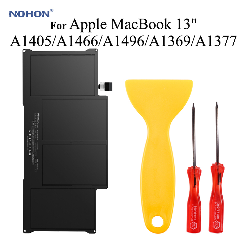 Nohon <font><b>Battery</b></font> For Apple MacBook Air 13