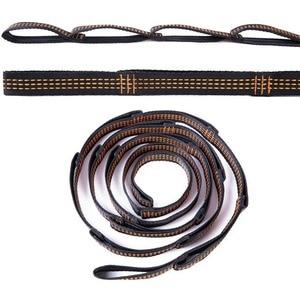 Image 2 - أرجوحة يوجا جوانية أرجوحة منحنية ضد الجاذبية كبيرة قوية 5x2.8 متر معدات يوجا لتمارين اللياقة البدنية