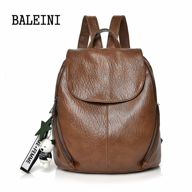 BALEINI Backpack Female School Bags For Girls Backpacks For Women Bag Travel  Shoulder Bags sac a 45c8a5539157c