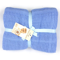 Baby Knitted Carpet Blankets Newborn Cotton Spring Summer Air Conditioning Crib Bedding Baby Wrapping Quilt Swaddling Blankets