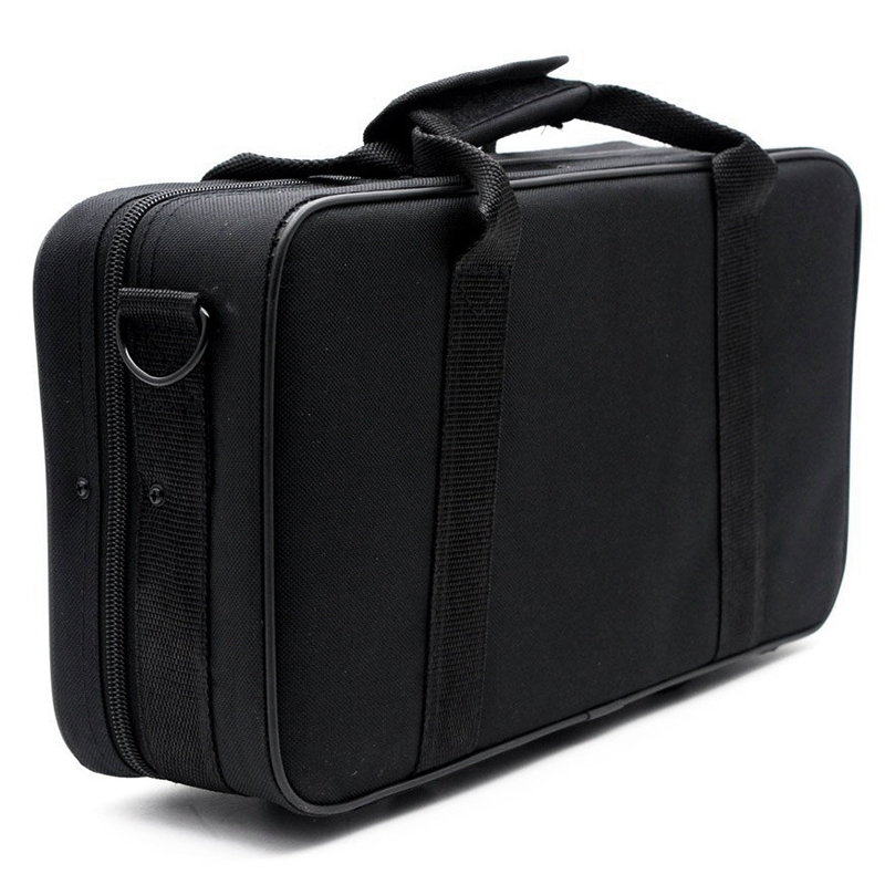 Black Foam Padded Thicken Oxford Cloth Sotrage Bag Clarinet Box Case With Handle Strap Clarinet Protection Accessories        #5