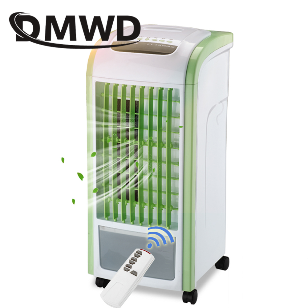 DMWD Strong Wind Air Conditioning Cooler Electric Conditioner Cooling Fan Remote Controlled Water-cooled Chiller Fans Humidifier dmwd portable strong wind air conditioning cooler electric conditioner fan mini air cooling fans humidifier water cooled chiller