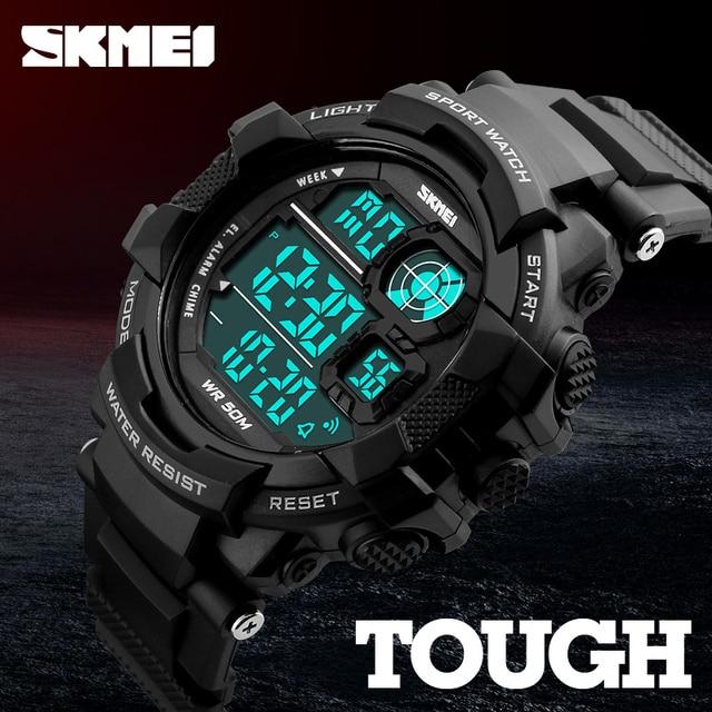 4085dadf48c 2018 SKMEI G Shock Digital-Watch Mens Sports Watches Fashion Army Men  Wristwatch LED Military Clock Quartz Watch Erkek Saat 1118
