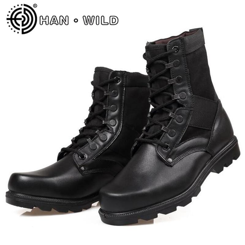 Acier orteil femmes Combat cheville bottes plate-forme bottines pour femmes travail et sécurité chaussures hiver militaire tactique désert bottes chaussures