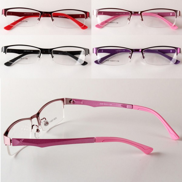 2016 Women Eyewear Half Rim Eyeglasses Frame Optical ...