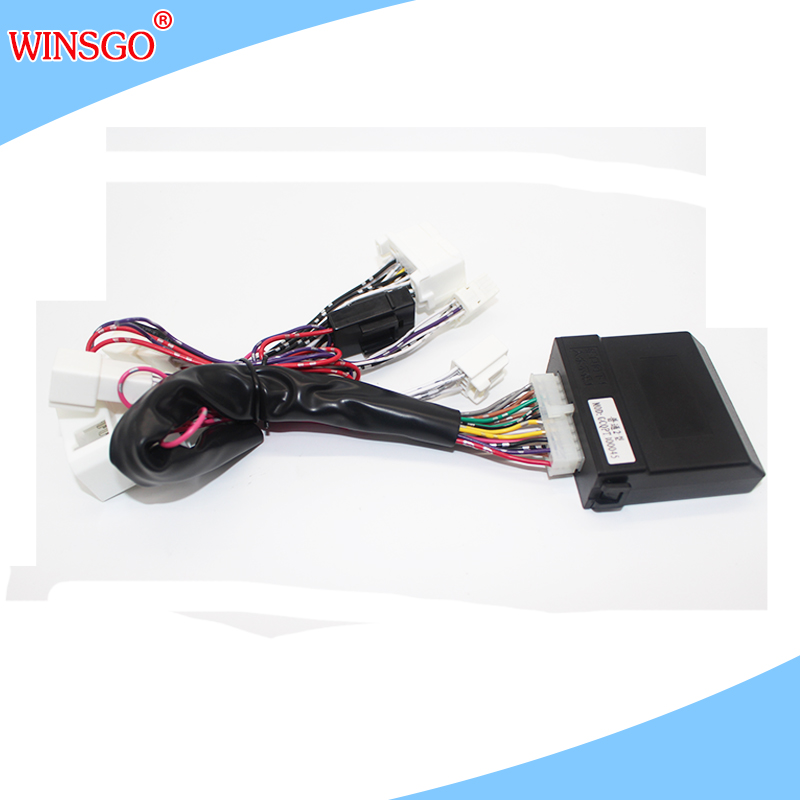 Car Auto Power Window Closer Closing One by One Remote Control LHD Left Hand Drive For Toyota Hilux 2017/Fortuner 2016+
