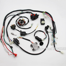 FULL ELECTRIC GY6 125cc 150cc LOOM MAGNETO STATOR ATV QUAD WIRING HARNESS 6 Coil new_220x220 gy6 stator wiring reviews online shopping gy6 stator wiring gy6 stator wiring at virtualis.co
