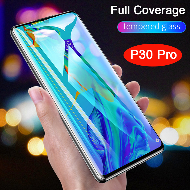 Protective Glass For huawei p30 pro tempered glass Screen Protector tremp phone On huawey p 30