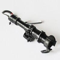 Drop shipping 100mw subzero high power green laser beam torch handheld rifle powerful laser torch