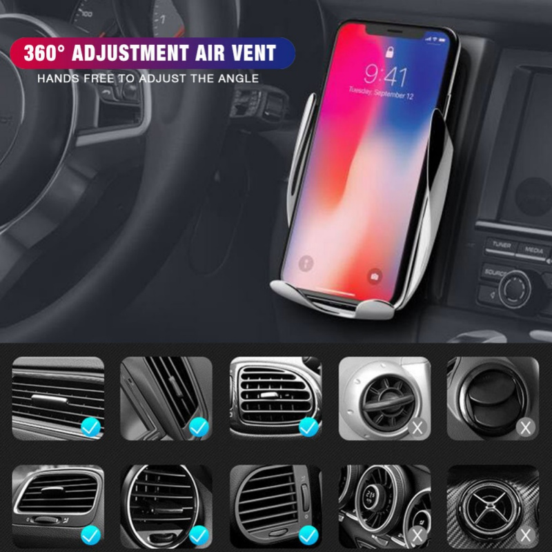 Automatic-Clamping-Wireless-Car-Charger-Receiver-Mount-For-iPhone-Android-Charging-Mount-Bracket-Multitool-Camping-Equipment