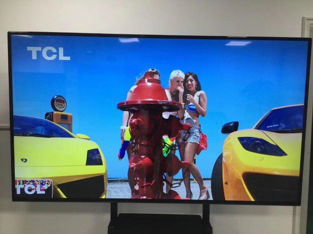 OEM 55 60 65 70 75 Inch HDMI 4K SMART WIFI LED TV HD Ops TFT Intelligent Network LCD TV