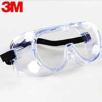 3M 1621 Anti-Impact Anti chemical splash Safety Goggles Economy clear Lens Eye Protection dust Work laboratory Glasses