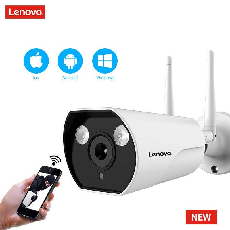 LENOVO double antenne caméra IP ONVIF 1080 P caméra de vidéosurveillance étanche extérieure HD Vision nocturne Wifi caméra de Surveillance sans fil - 5