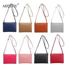 Women Famous Brand Fashion Small Handbags Hot Sale Classic Simple Women Leather Messenger Bags Shoulder Mini