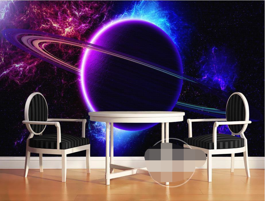 3d room wallpaper custom HD photo mural non-woven wall sticker 3D Space Star Wars Star Wars painting photo wallpaper for wall 3d