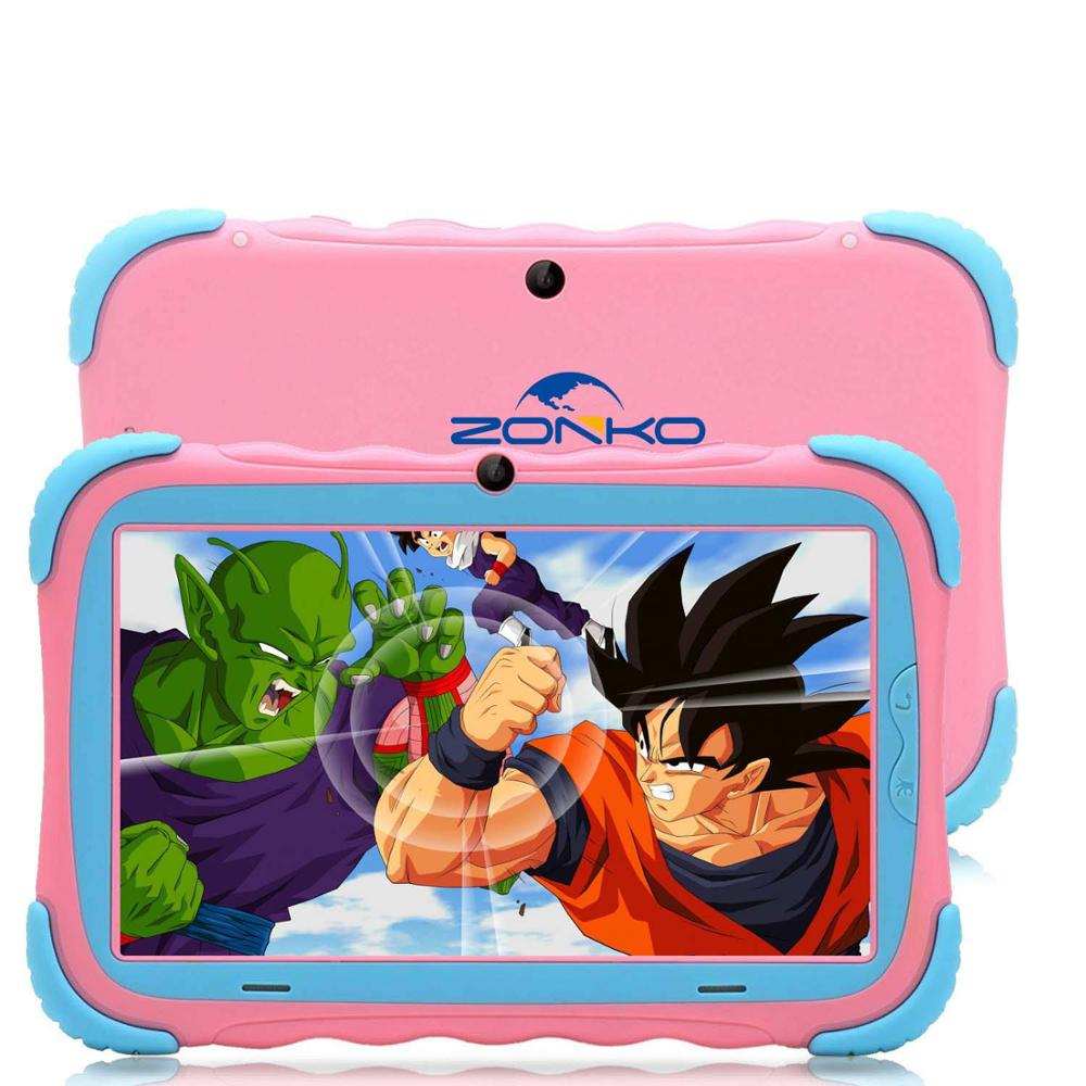 ZONKO K78 7 Inch Android 8.1 Kids Tablet 16GB PC With Wifi And GMS Certified Supported Kids-Proof Case Tablet For Children