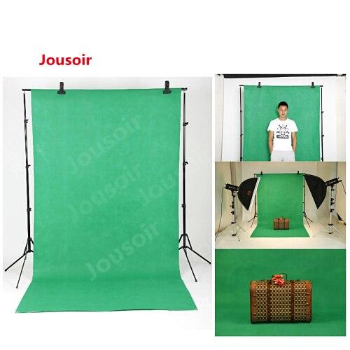 Фон для фотосъемки Falcon Eyes 3х6 м с изображением муслина, хлопковая муслиновая Хромовая клавиша (зеленый и синий) CD30