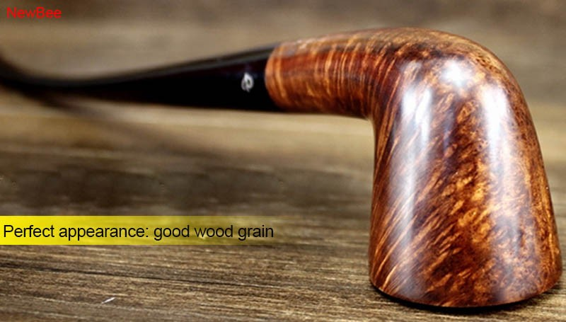 8 imported briar wood pipes handmade long stem pipes for reading flavored tobacco pipes
