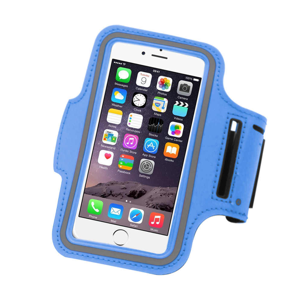 release date: 9eb2b f1106 Nylon Sport Armband for running smartphone Case Waterproof 5.5 inch Phone  Bag with Armband for iPhone 5S/6/6 Plus Samsung S4/S5