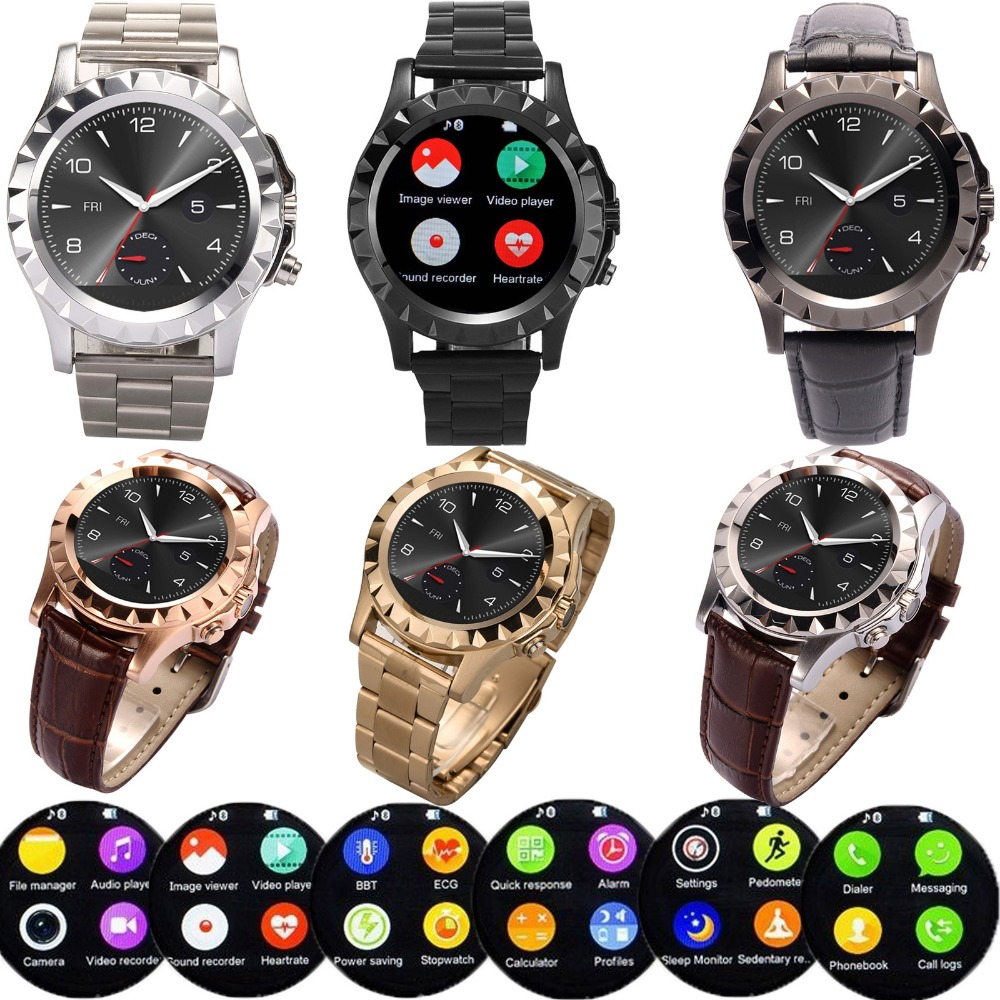 Bluetooth Wrist Smart Watch Heart Rate Monitor For Android IOS Motorola Lenovo LG HTC ZTE Alcatel
