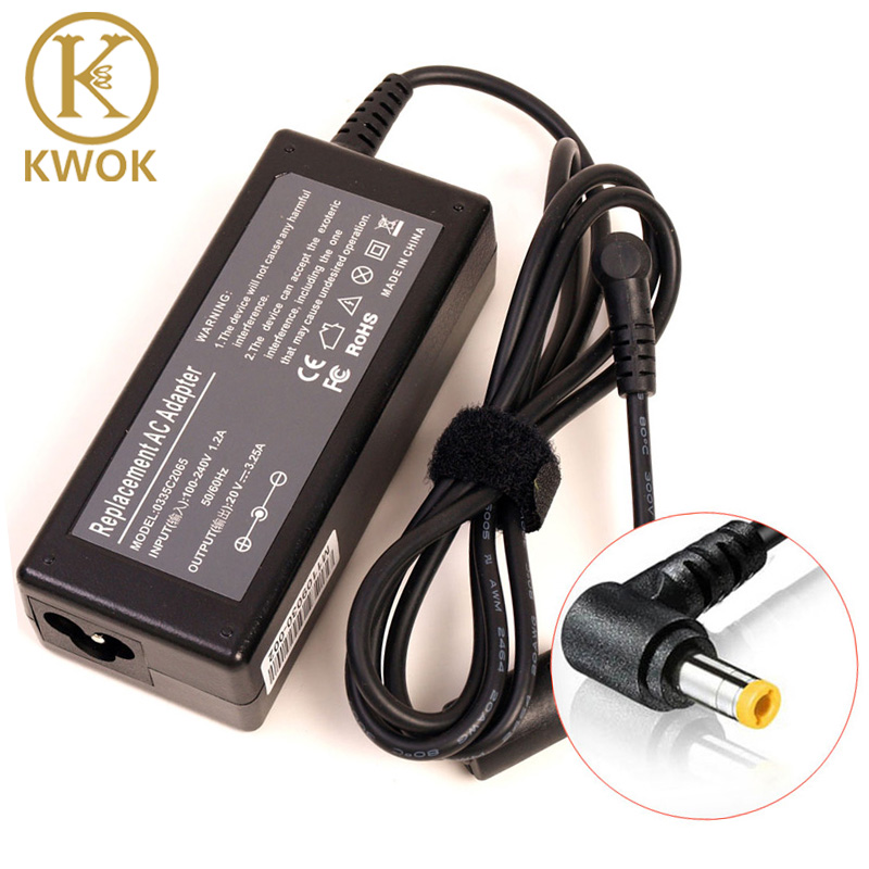 2017 20V 3.25A 5.5*2.5mm AC Laptop Adapter Charger For Lenovo IdeaPad g530 g550 g560 Charging Device Notbook Laptop Adapter image