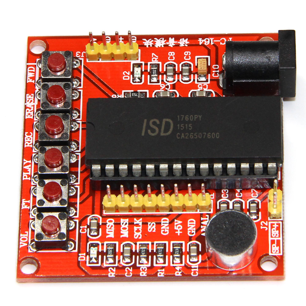 ISD1700 Module Series Voice Recording Module Class ISD1760 Voice Module AVR PIC