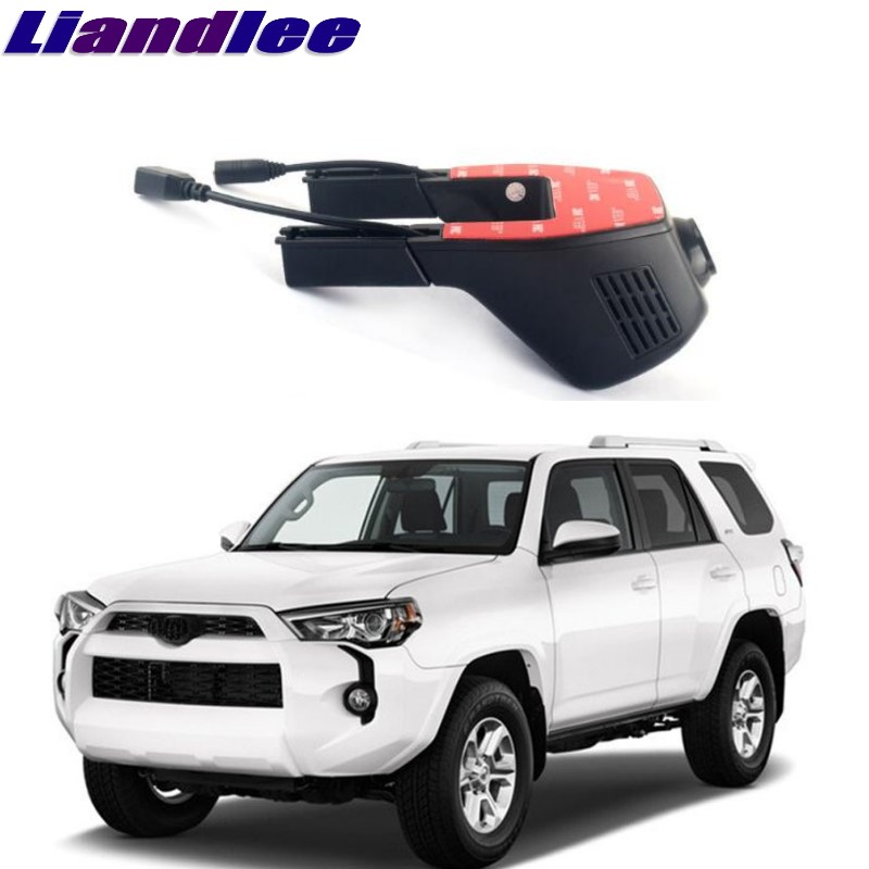 Liandlee For Toyota Hi-Lux Surf / 4Runner / SW4 N210 2002~2018 Car Black Box WiFi DVR Dash Camera Driving Video Recorder цена